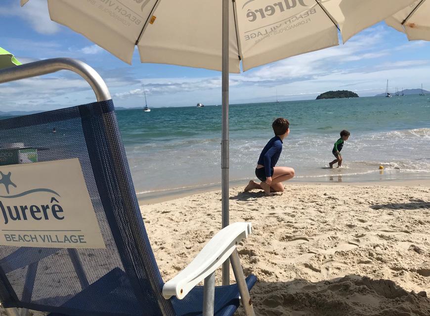 Playa Jurere Beach village