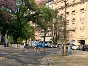 Running en Recoleta