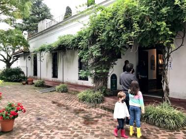 Quinta Los Ombues-patio